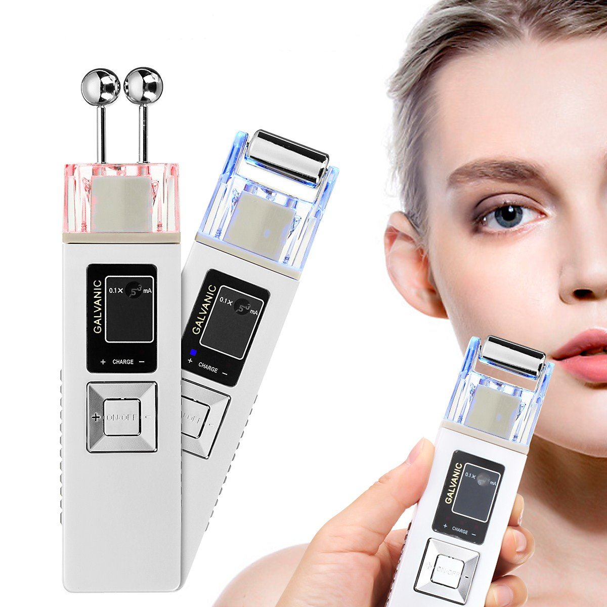 Anion Firming Beauty Instrument Whitening Remove Freckle Cleansing IontophoresisMassager Skin care