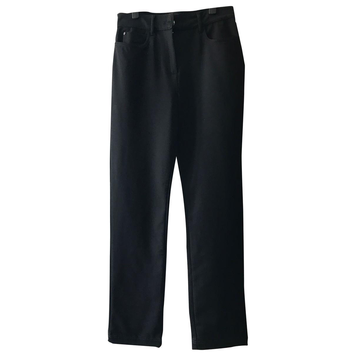 Max Mara Weekend \N Black Trousers for Women 36 FR