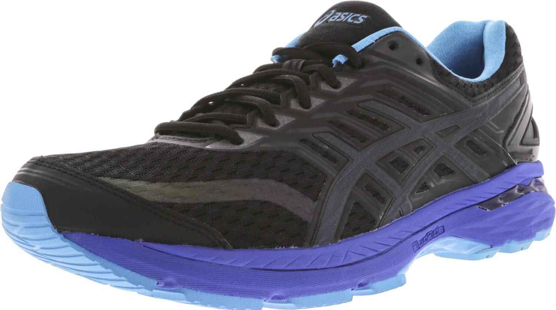 Asics Women's Gt-2000 5 Lite-Show Black / Island Blue Reflective Ankle-High Running - 6M