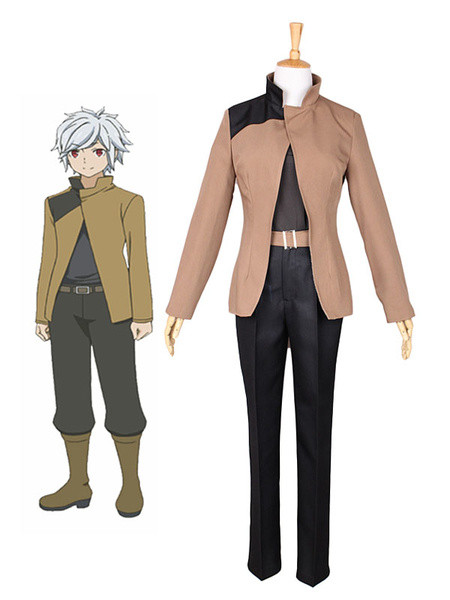 Milanoo Is It Wrong To Try To Pick Up Girls In A Dungeon Berkloni Polyester Outfit Cosplay Costume