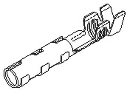 Molex , Claspcon Female Crimp Terminal Contact 16AWG 02-08-1102 (50)