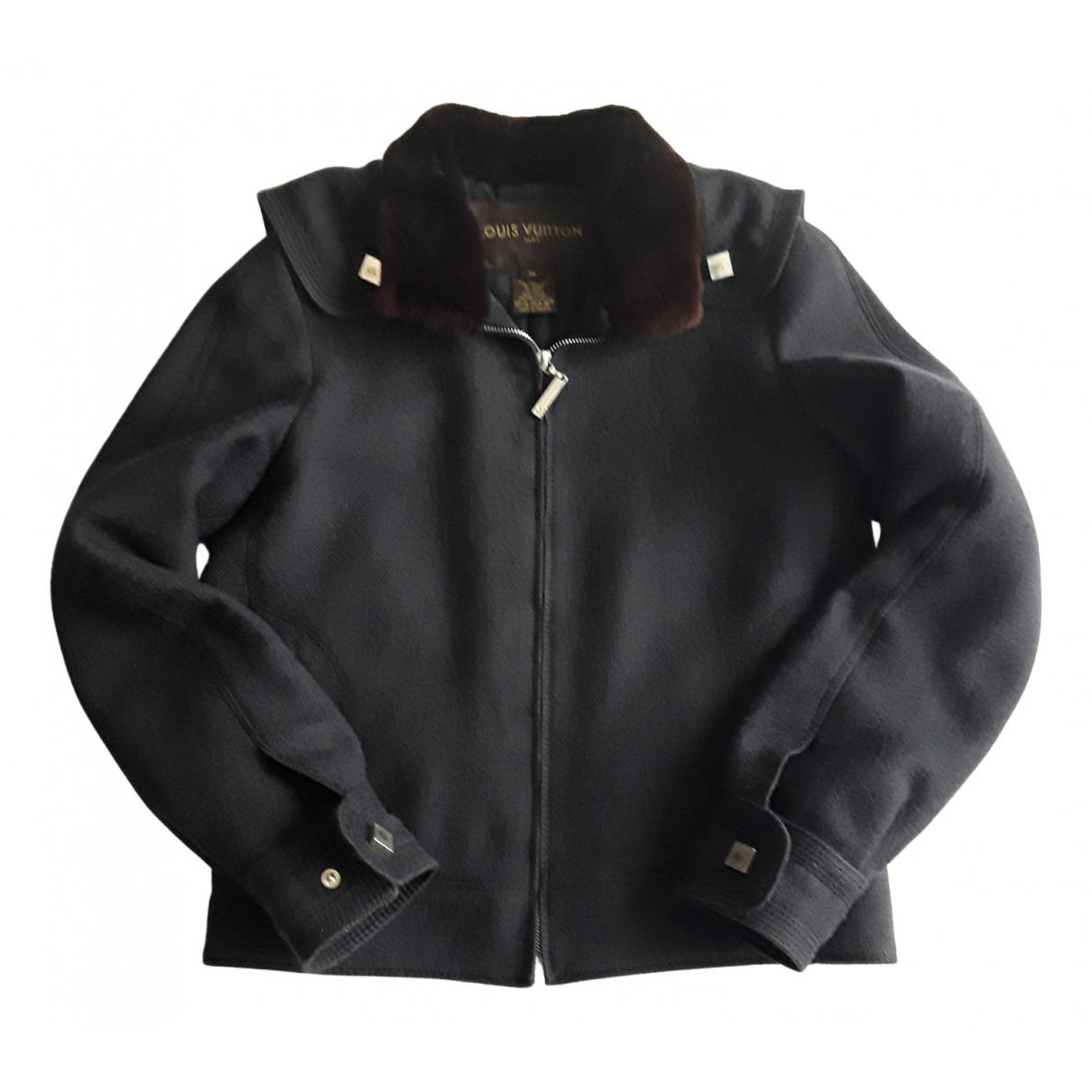 Louis Vuitton \N Grey Wool jacket for Women 38 FR