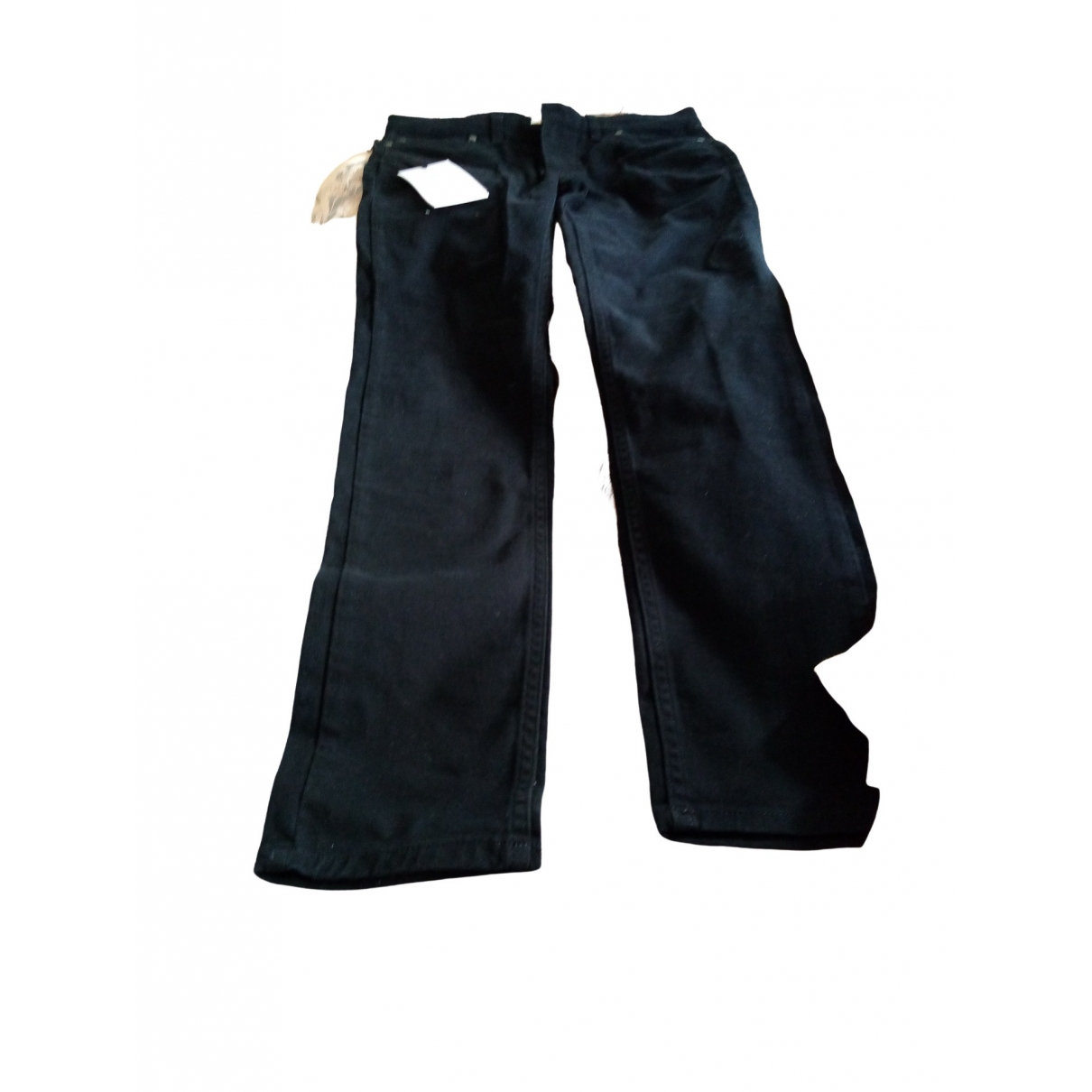 Farah \N Black Cotton Trousers for Men 32 UK - US