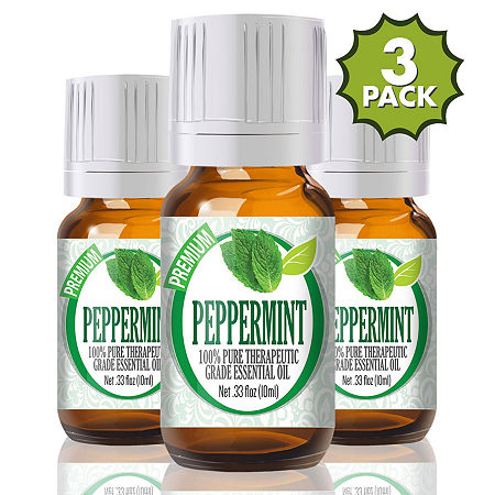 Healing Solutions Peppermint Essential Oil, One Size , Multiple Colors