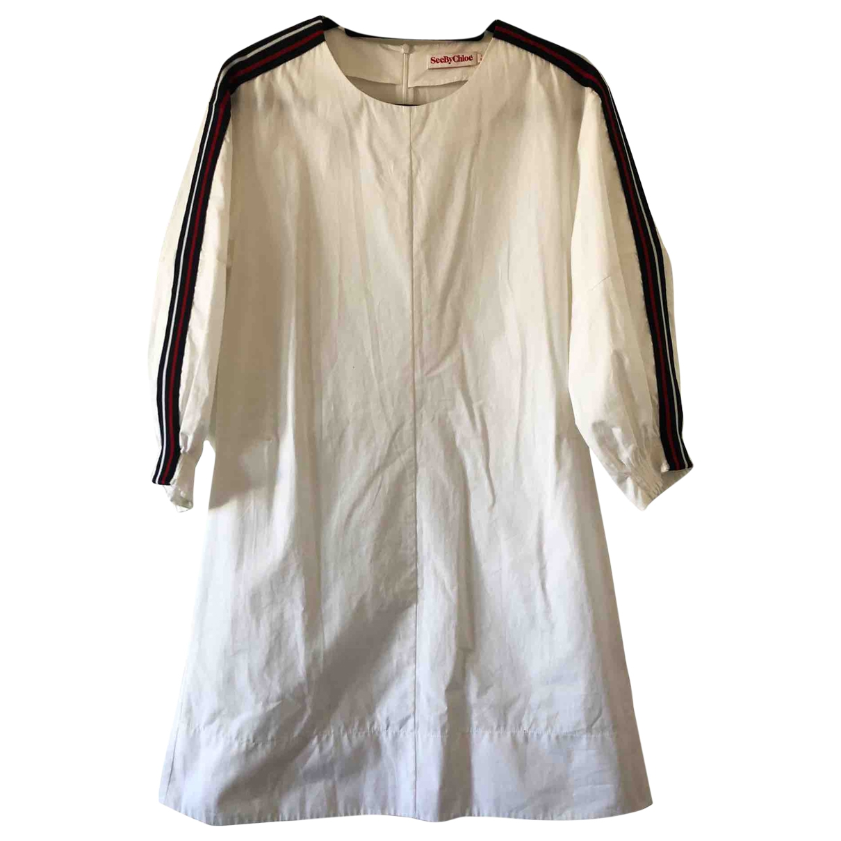 See By Chloé \N White Cotton dress for Women 8 UK