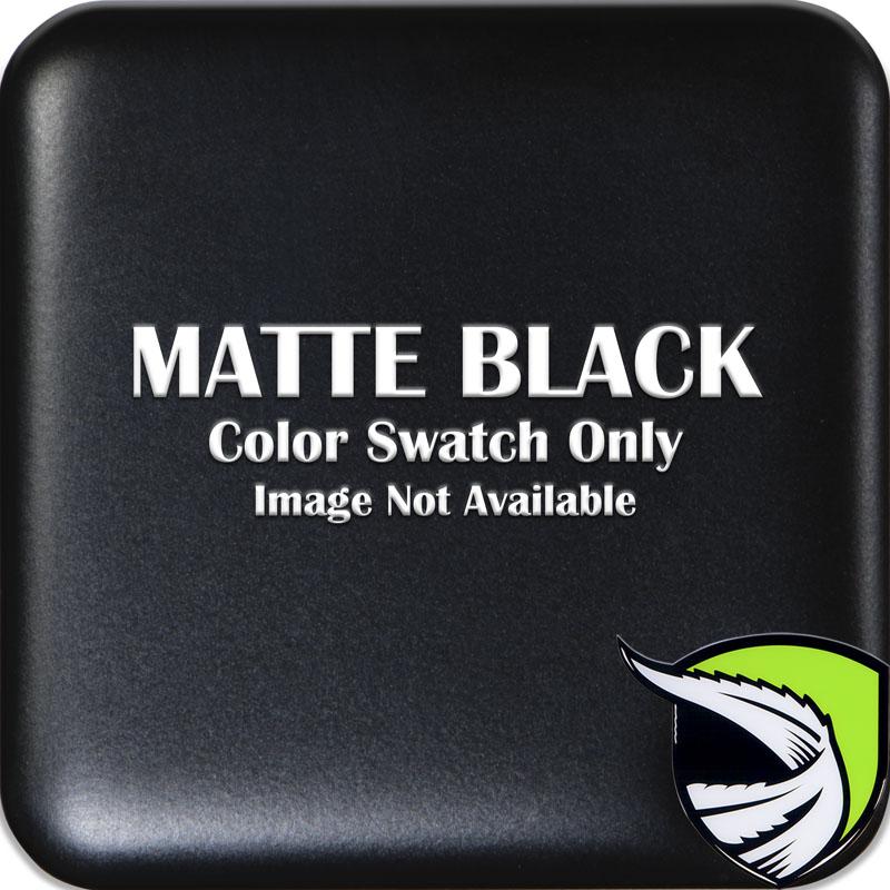 Tufskinz TAC037-BLK-M STEERING WHEEL TRIM WITH 2 BUTTONS Fits Toyota Models 2 Piece Kit Matte Black