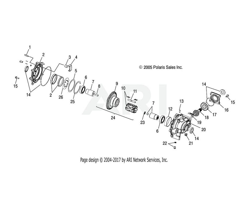 Polaris OEM 3234377 Asm., Roll Cage | [Incl. 26, Spring and Roll Cage]