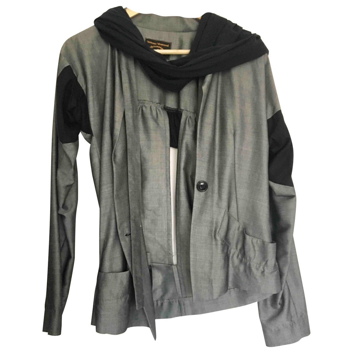 Vivienne Westwood Anglomania \N Grey jacket for Women 42 IT