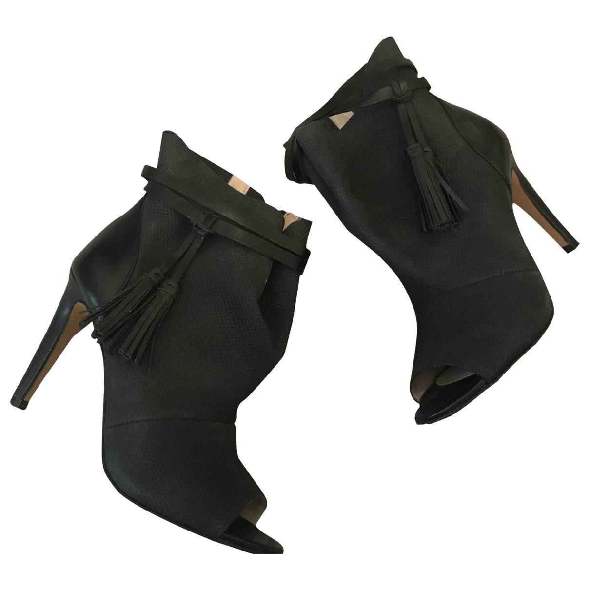 French Connection \N Black Leather Heels for Women 36 EU