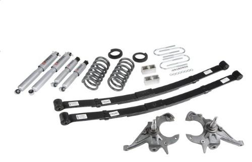 Belltech 631SP 4-5inch Front 5inch Rear Lowering Kit w/ SP Shocks Chevrolet Blazer | GMC Jimmy 4cyl 1995-1997