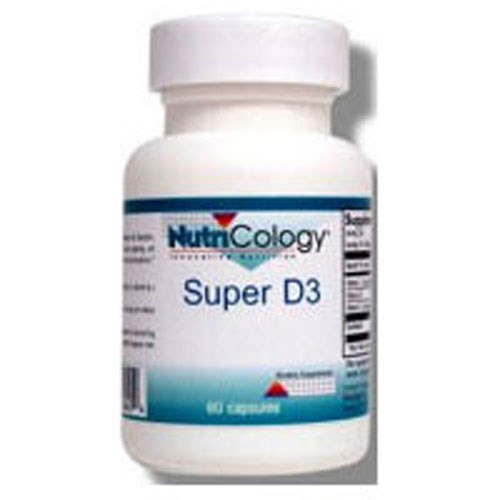 Super D3 60 Cap by Nutricology/ Allergy Research Group