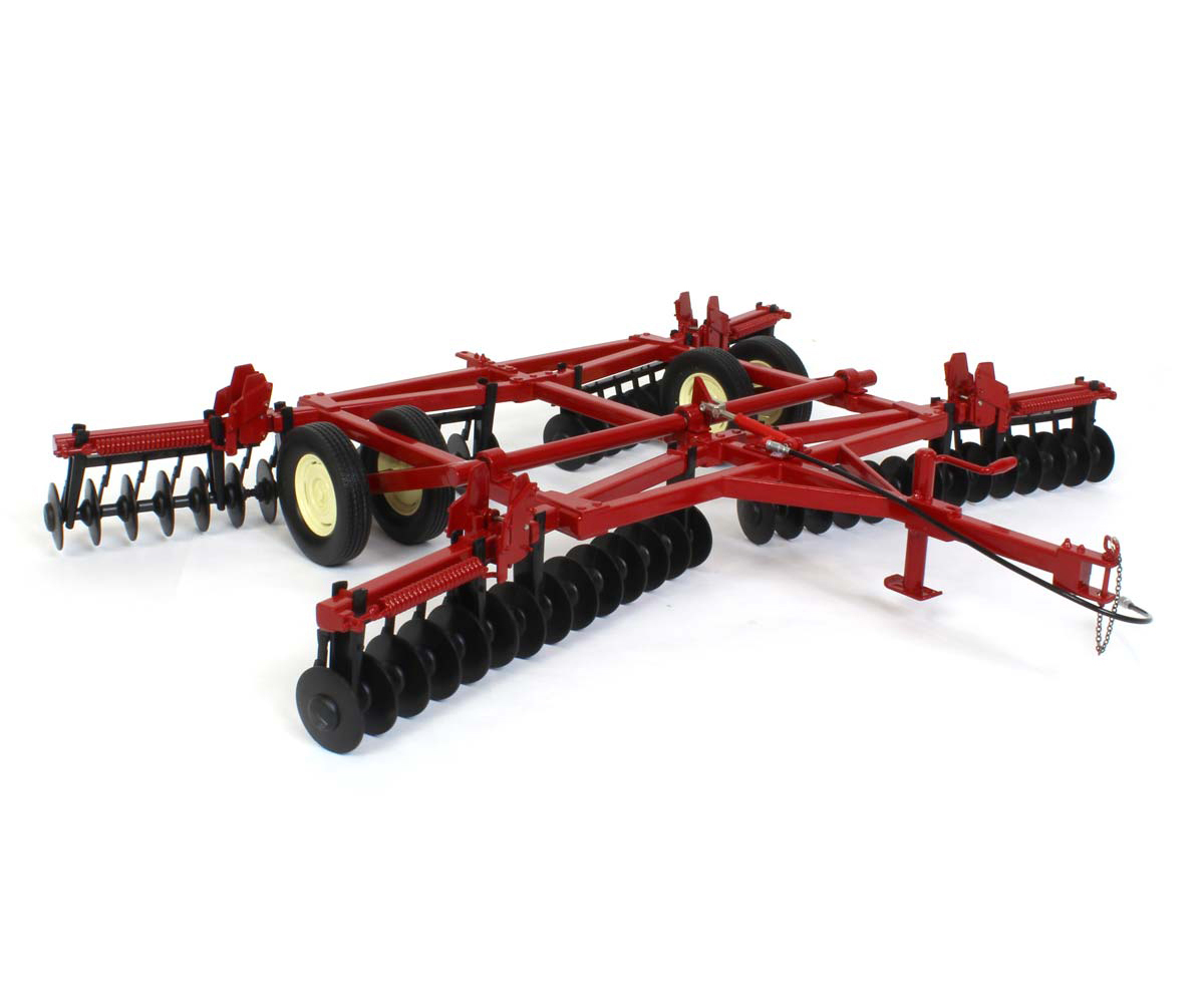 Disc Harrow with Folding Wings Red