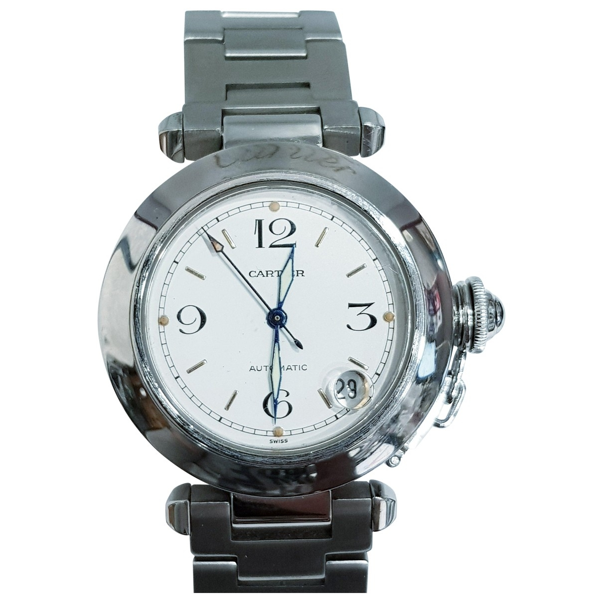 Cartier Pasha White Steel watch for Women \N
