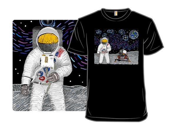 Starry Moon T Shirt