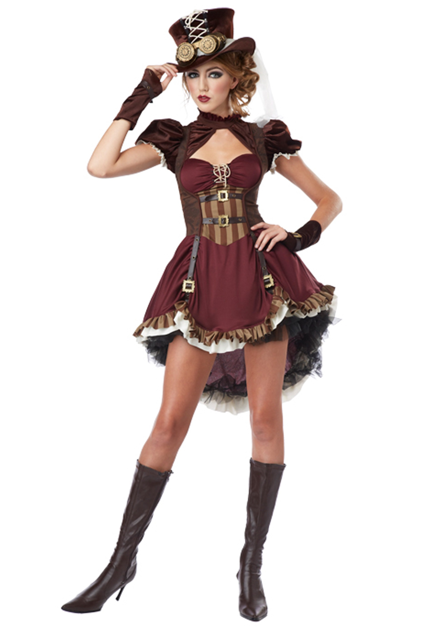 Steampunk Lady Costume for Women   Historical Costume