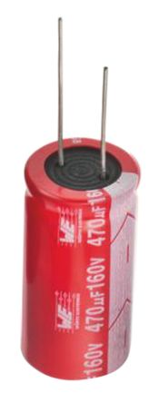 Wurth Elektronik 33μF Electrolytic Capacitor 35V dc, Through Hole - 860010572004 (50)