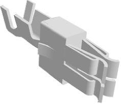 TE Connectivity , Standard Power Timer Female Crimp Terminal Contact 927838-1 (10)