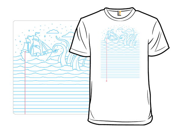 My Mind Is At Sea T Shirt