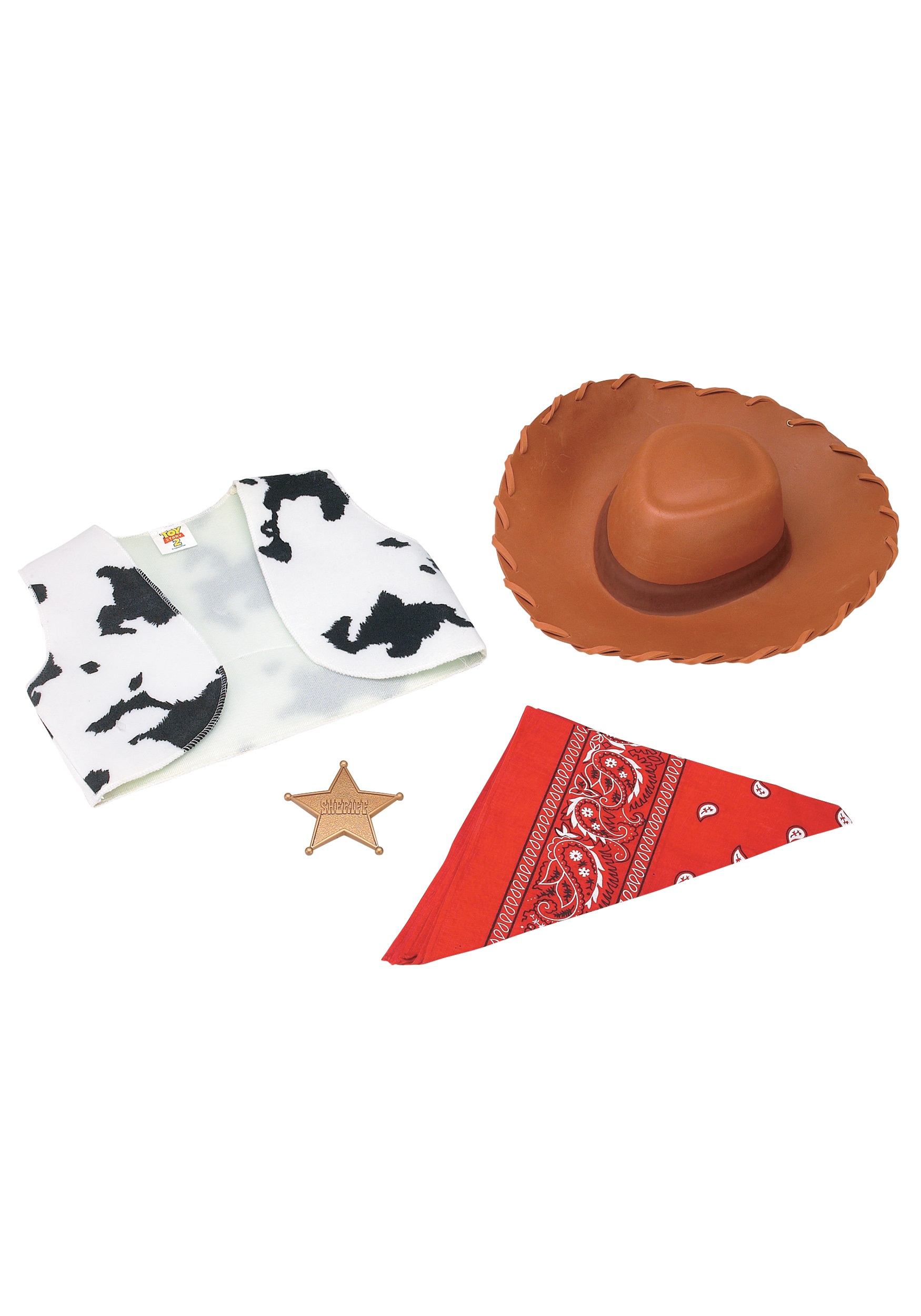 Kids Toy Story Woody Costume Kit
