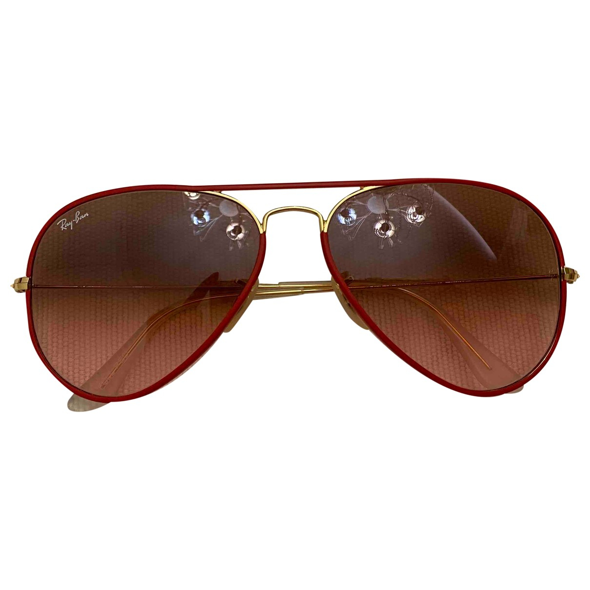 Ray-ban \N Red Metal Sunglasses for Women \N