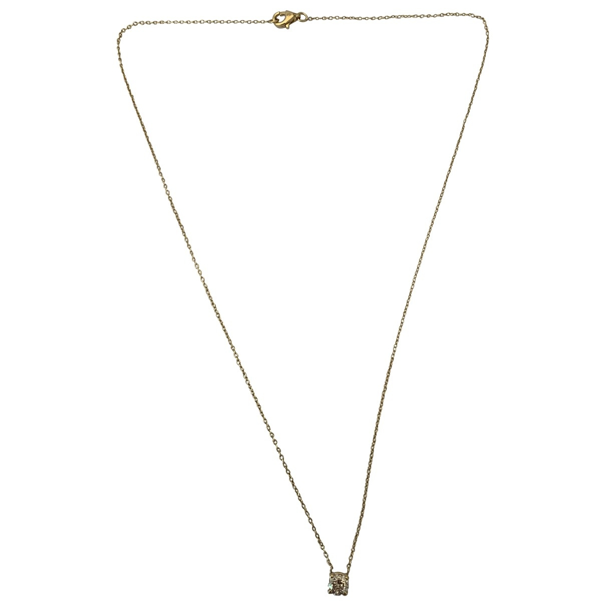 Non Sign?? / Unsigned Chanes Yellow Yellow gold necklace for Women \N