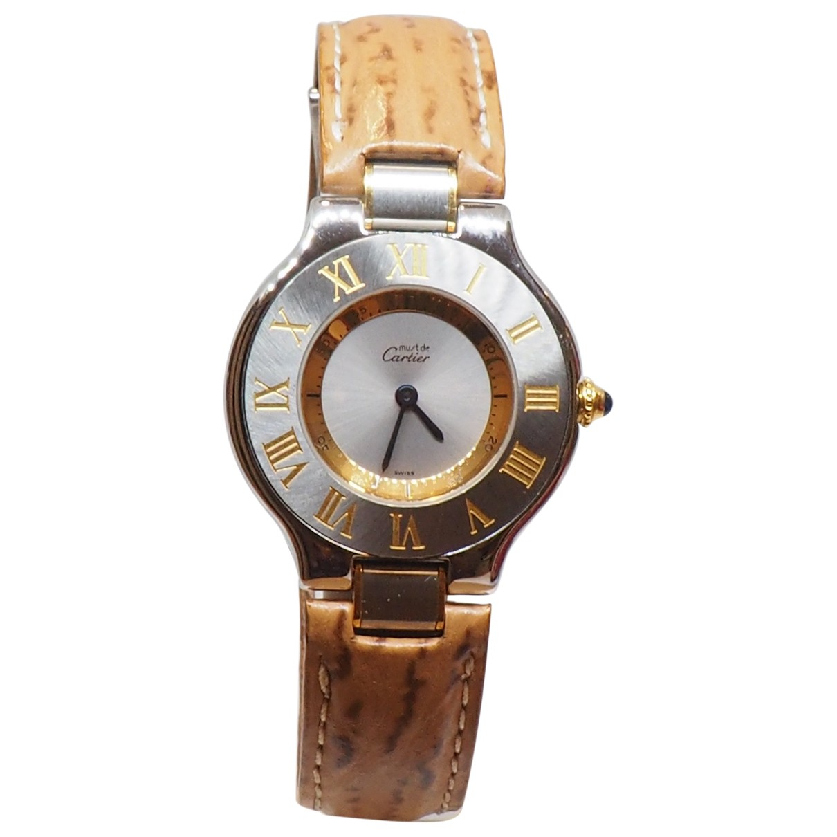 Cartier Must 21 Camel Gold plated watch for Women \N