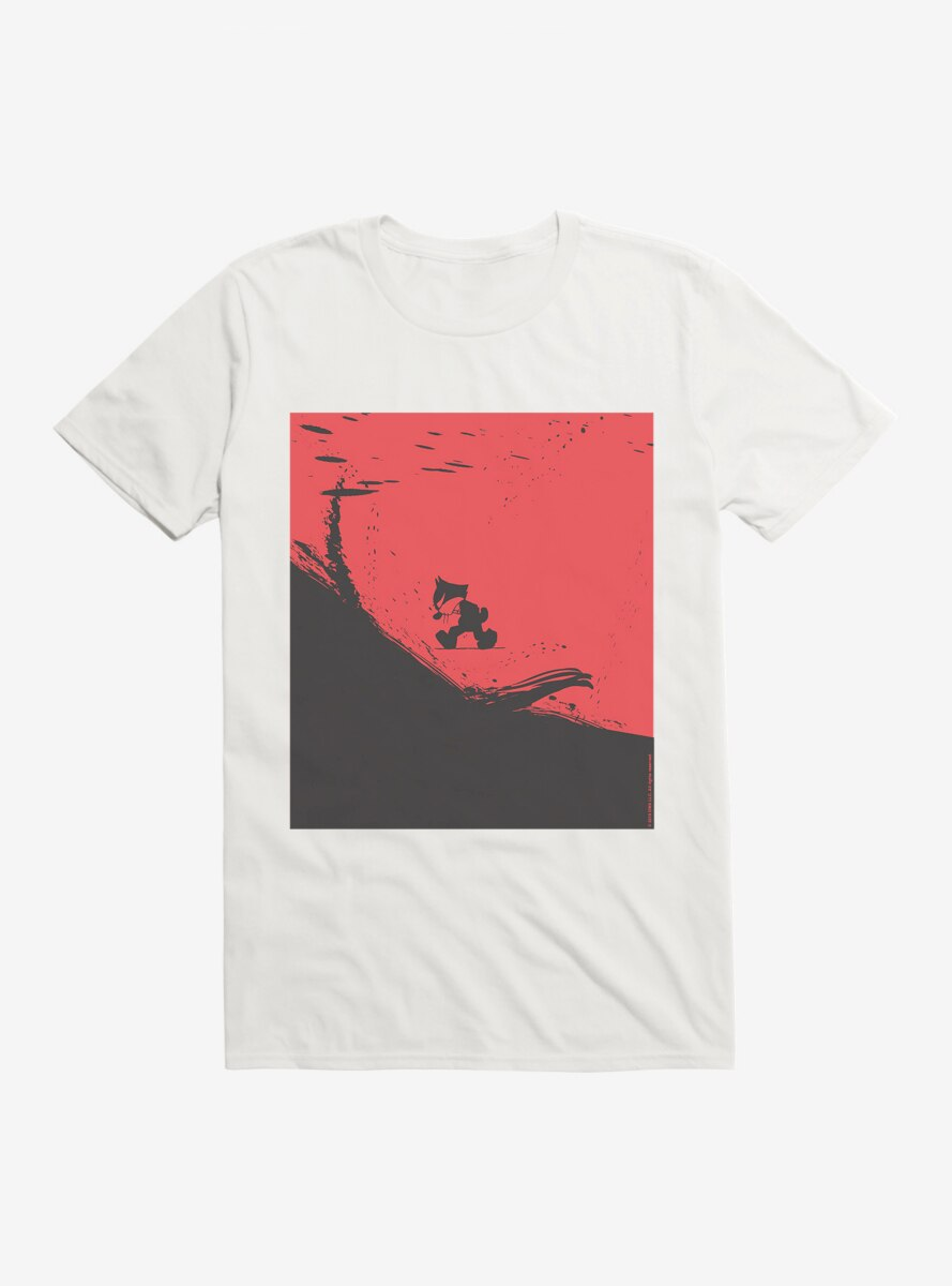 Felix The Cat On The Edge T-Shirt