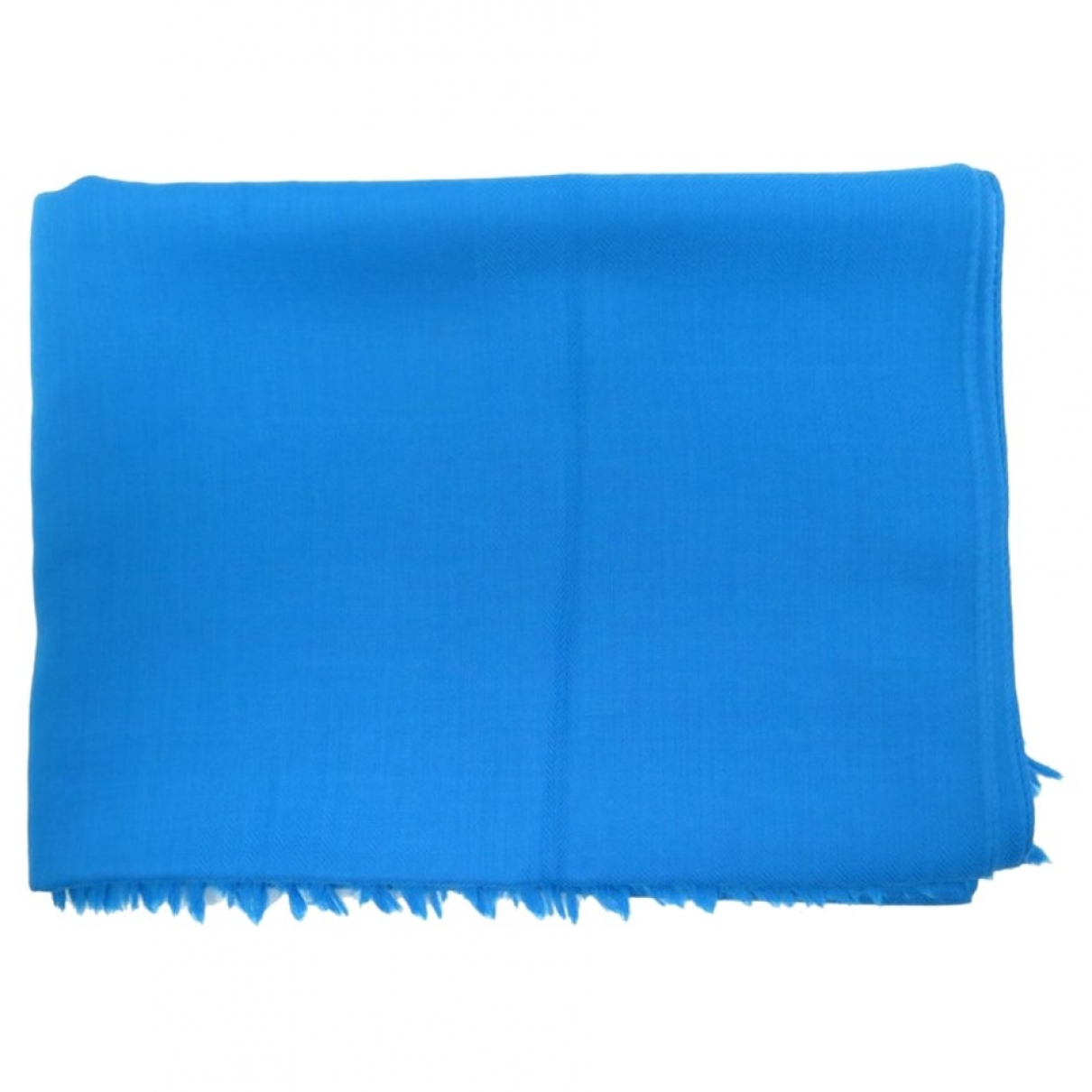 Hermès \N Blue Cashmere scarf for Women \N