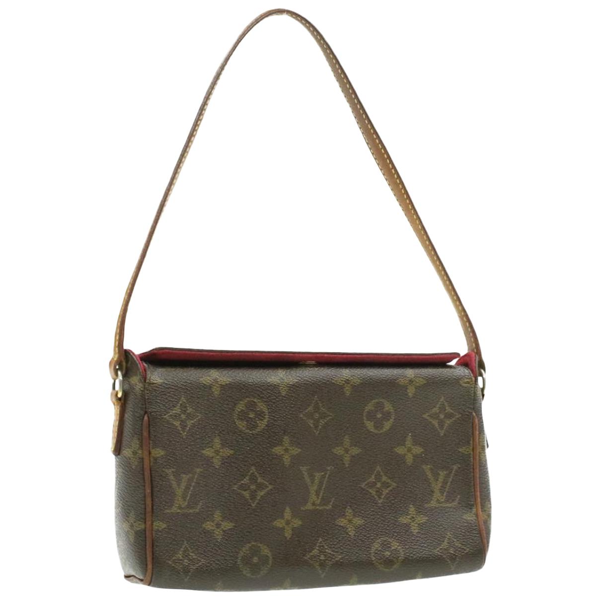 Louis Vuitton Recital Brown Cloth handbag for Women \N