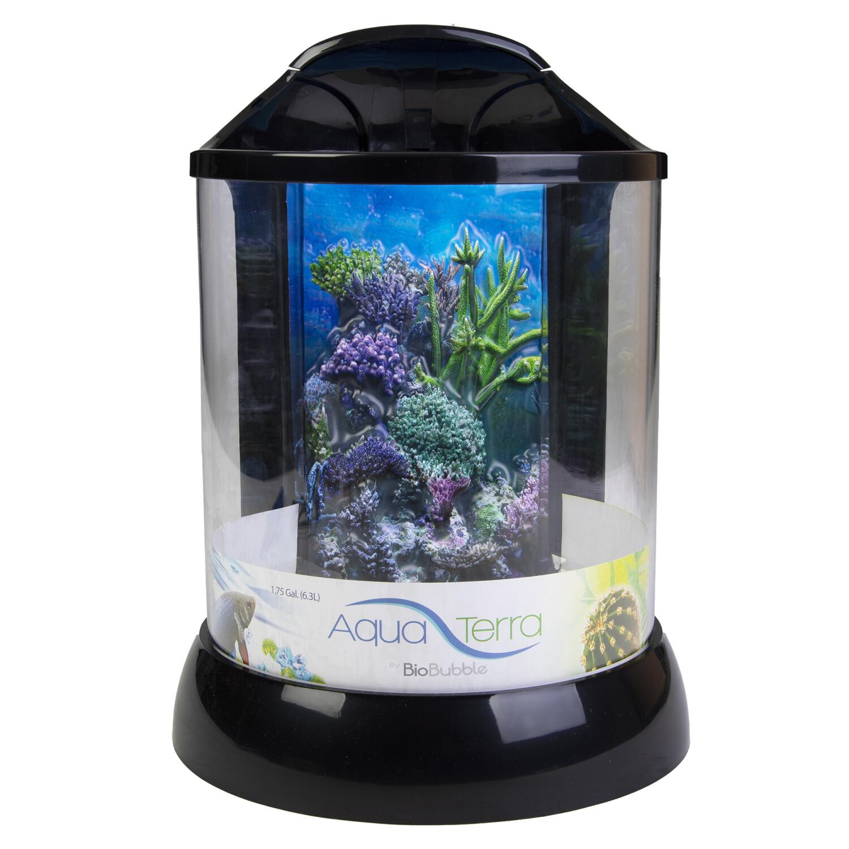 Biobubble Aqua Terra 2 Gallon Habitat - Black