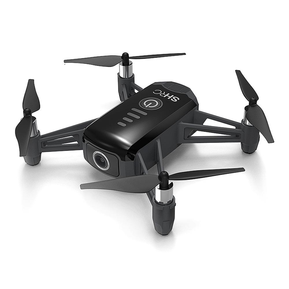 SHRC H2 Locke 2K WIFI FPV RC Quadcopter Smart Follow Optical Flow Positioning Mode RTF Black - Two Batteries