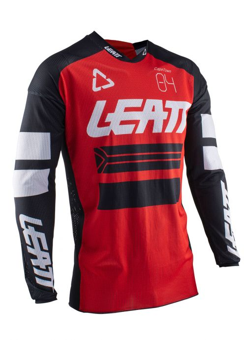 Leatt 5020001313 Red GPX 4.5 X-Flow Jersey X-Large