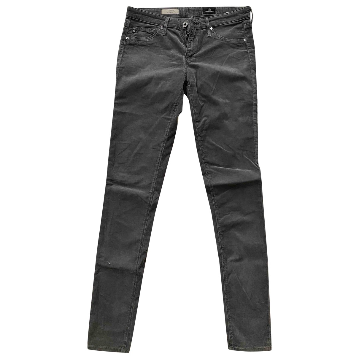 Adriano Goldschmied \N Grey Cotton Jeans for Women 27 US