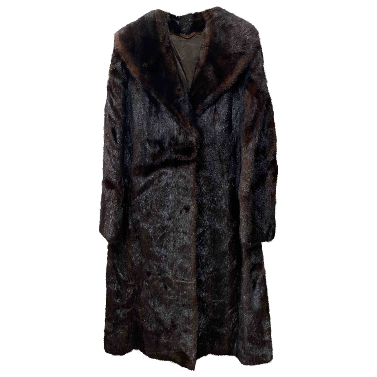 Non Signé / Unsigned \N Mink coat for Women L International