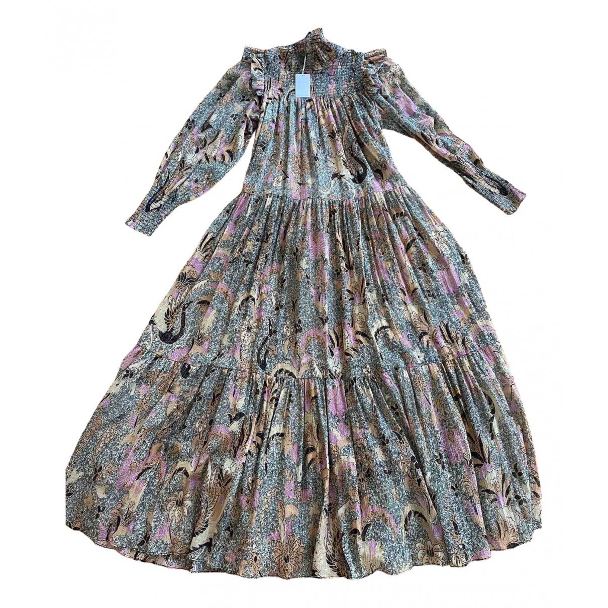 Ulla Johnson \N Multicolour Silk dress for Women 2 US