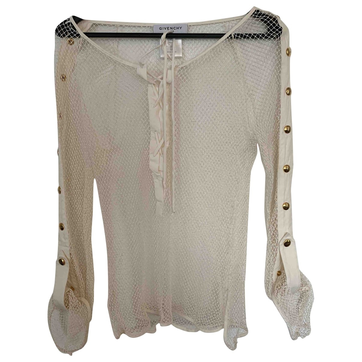 Givenchy \N White Cotton  top for Women 44 FR