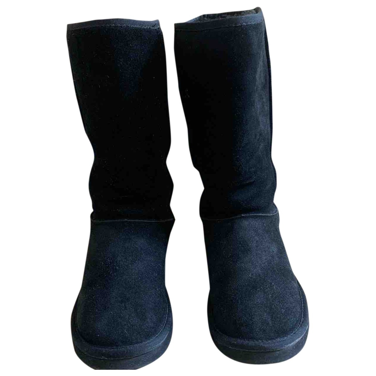Ugg \N Black Suede Boots for Women 7 US