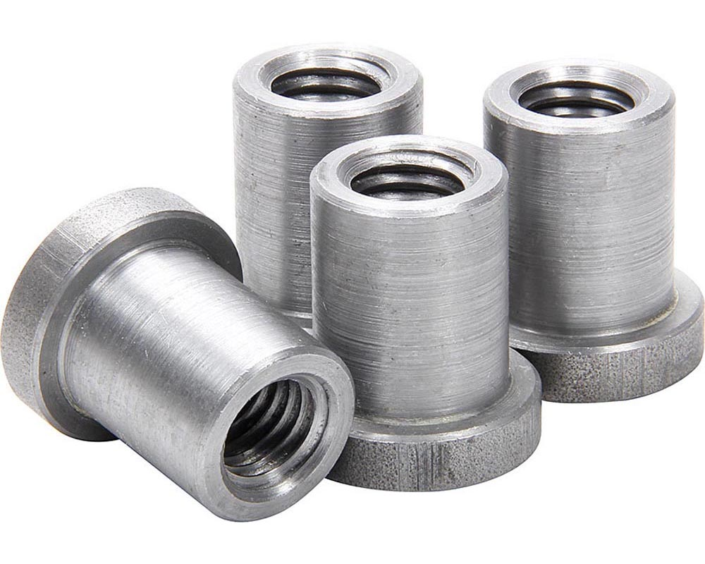 Allstar Performance ALL18552 Weld On Nuts 1/2-13 Long 4pk ALL18552