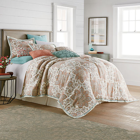 JCPenney Home Adelaide 4-pc. Comforter Set, One Size , Multiple Colors