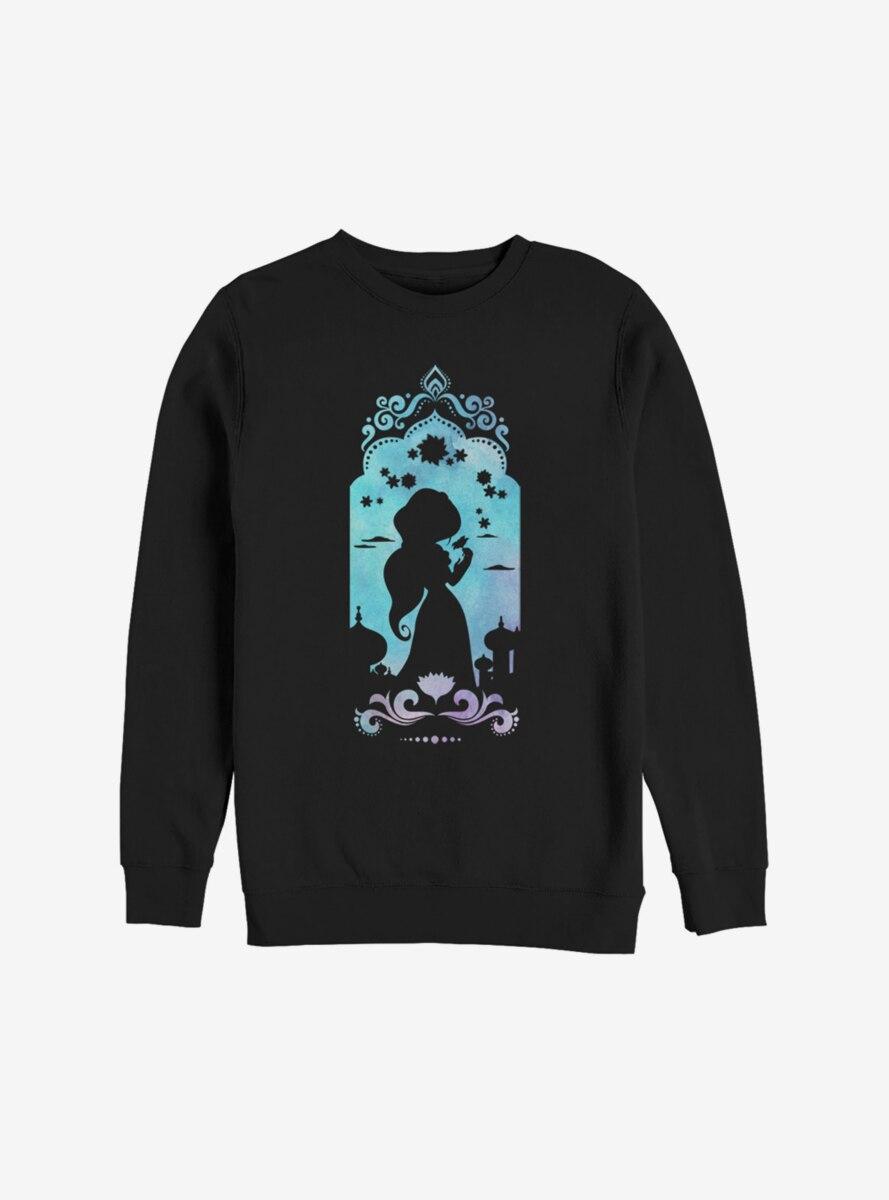 Disney Aladdin Jasmine Silhouette Sweatshirt