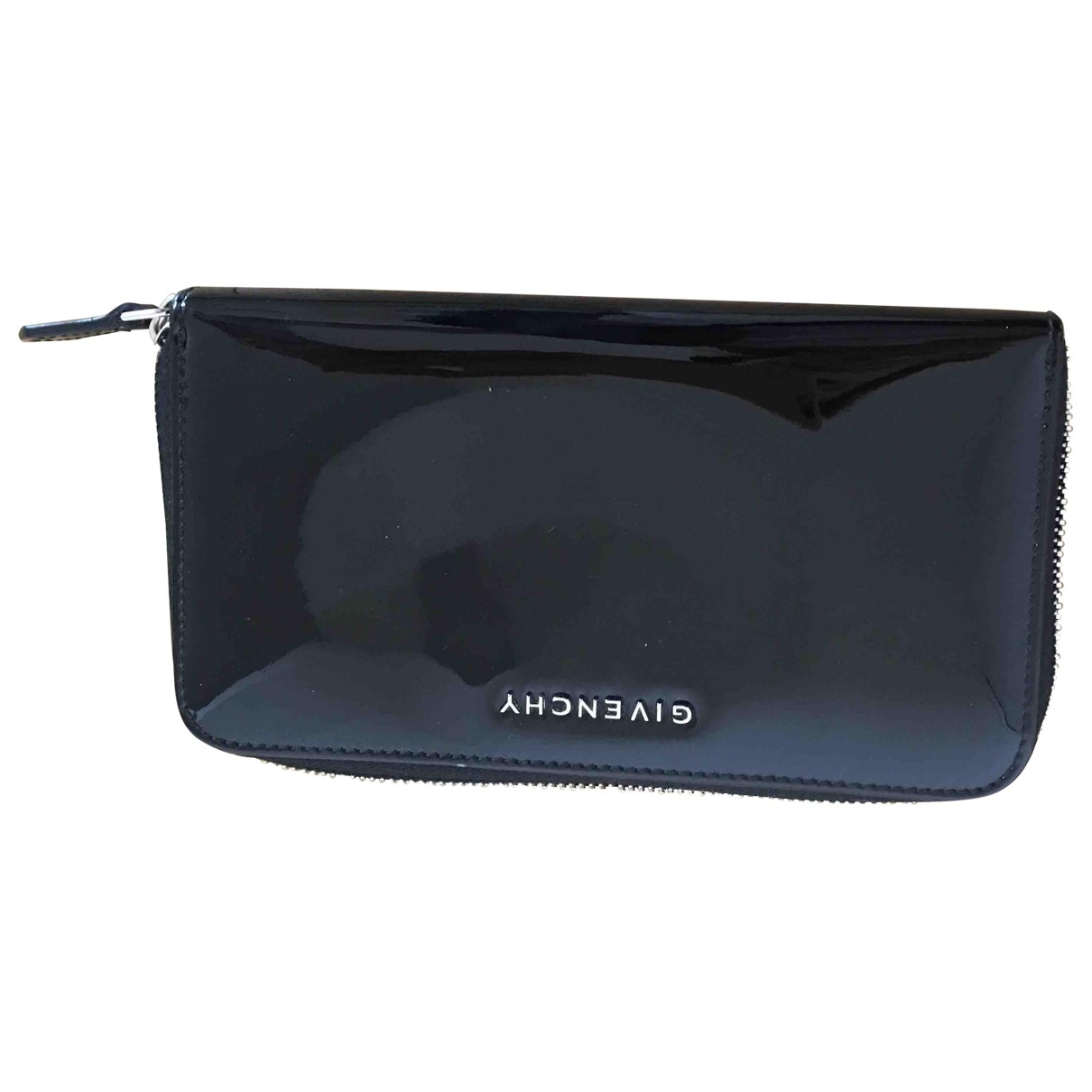 Givenchy \N Black Patent leather wallet for Women \N