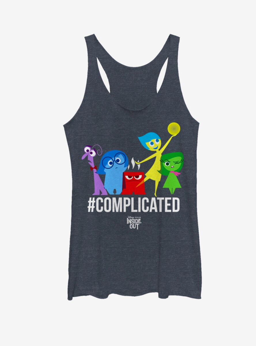 Disney Pixar Inside Out Complicated Emotions Womens Tank