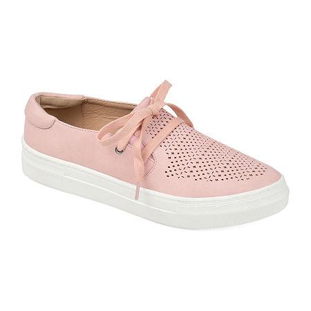 Journee Collection Womens Shantel Slip-On Shoe, 11 Medium, Pink
