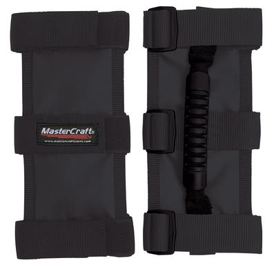 MasterCraft Safety Black Extreme Grab Handles for 3in. Roll Bars (Black) - 683304