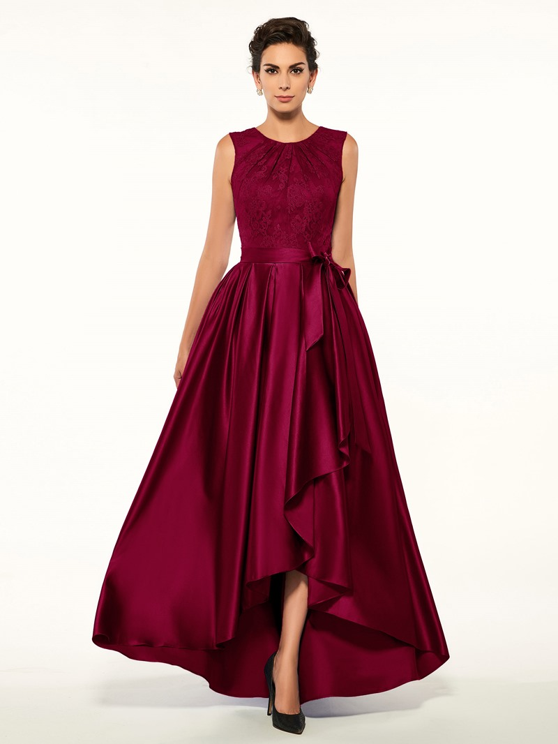 Ericdress Lace High Low Mother Of The Bride Dress