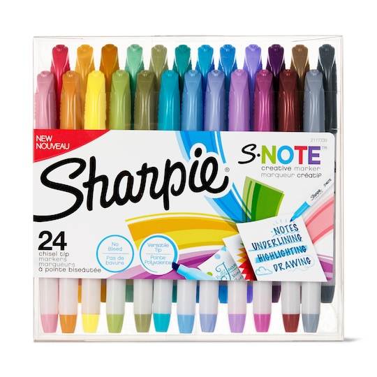Sharpie® S-Note™ Chisel Tip Creative Markers | Michaels®