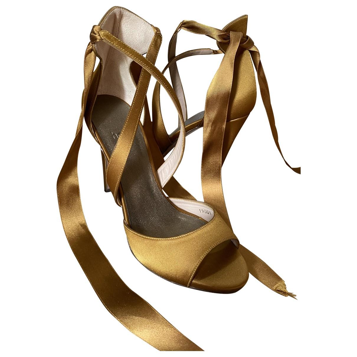 Hoss Intropia \N Cloth Heels for Women 38 EU