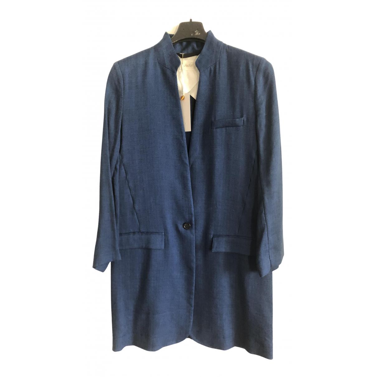 Forte_forte \N Blue Linen jacket for Women 36 FR