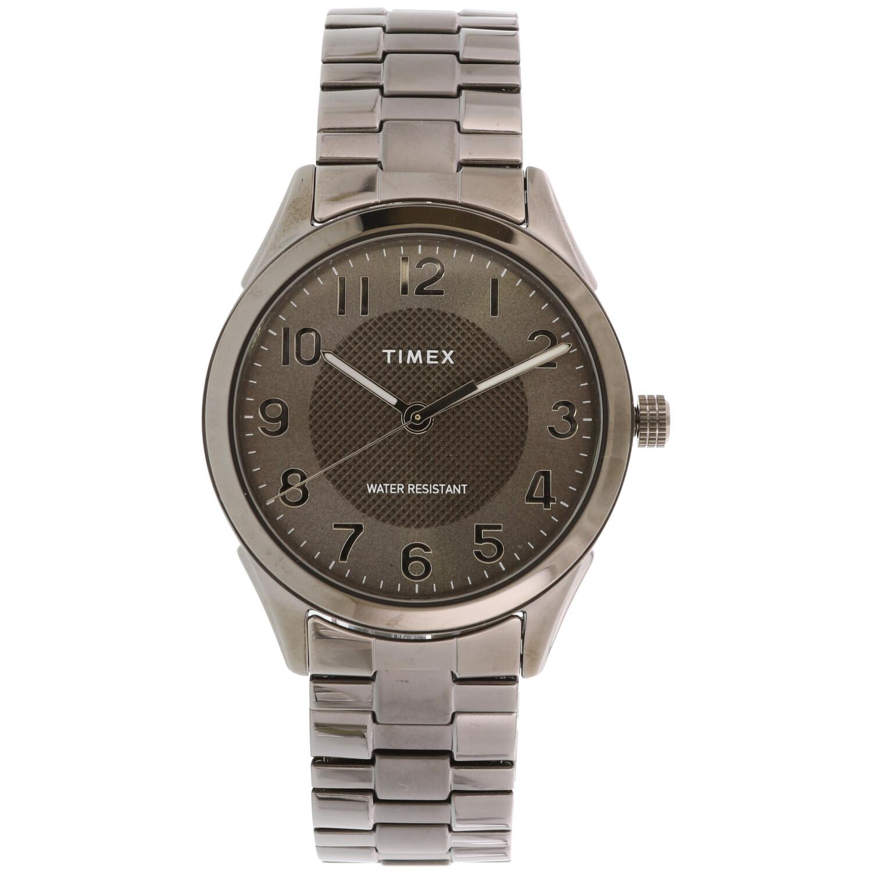 Timex Men's Briarwood TW2T46000 Grey Stainless-Steel Japanese Quartz Dress Watch