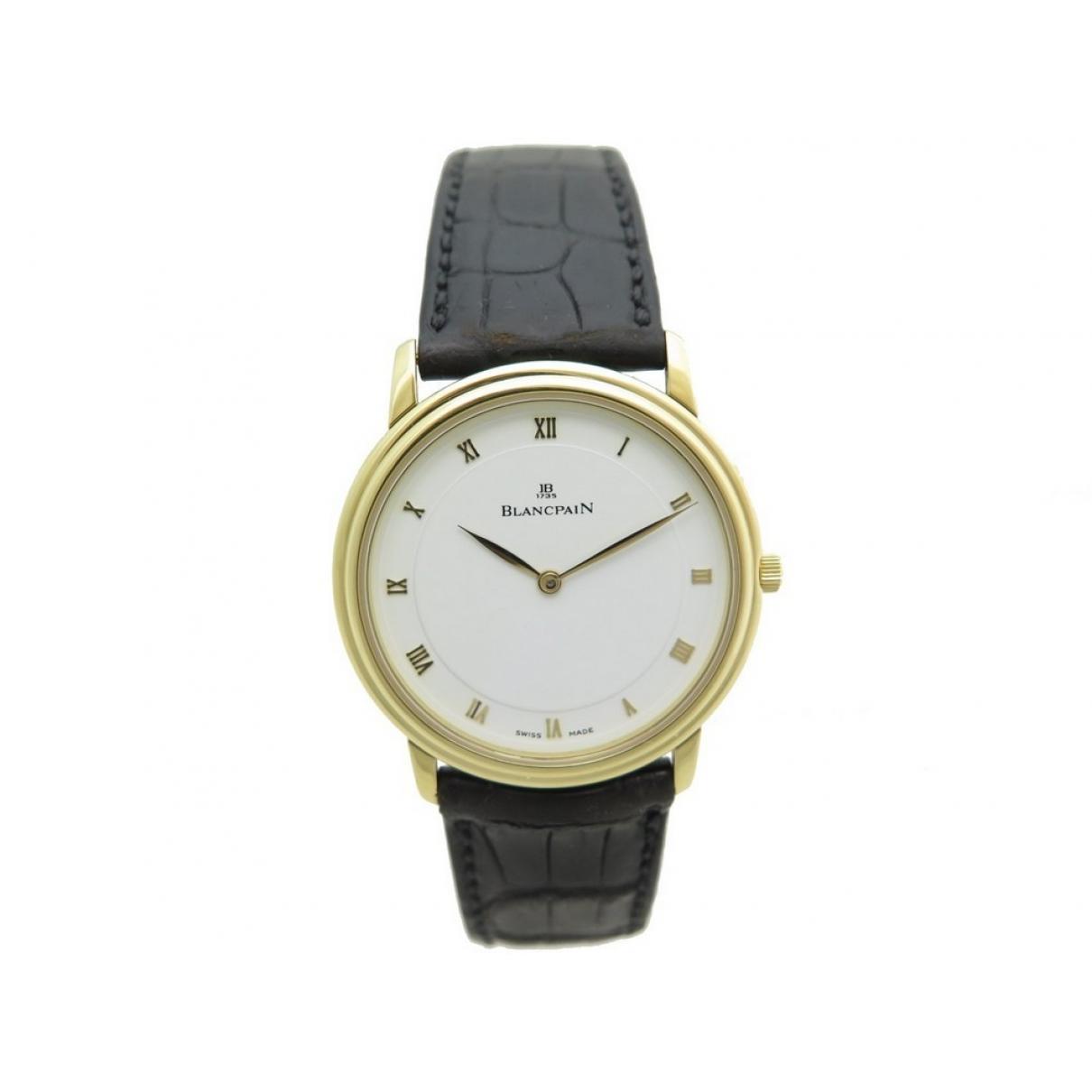 Blancpain Villeret Ultra-Plate Gold Yellow gold watch for Men \N